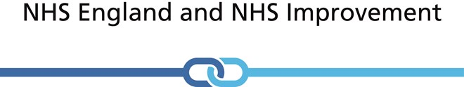 NHS England and NHS Improvement link logo